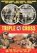 Triple Cross 1967 poster Christopher Plummer Terence Young