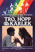 Tro hopp och k�rlek 1984 Movie poster Adam T�nsberg Bille August