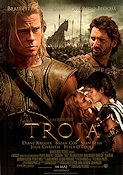 Troy 2004 Movie poster Brad Pitt