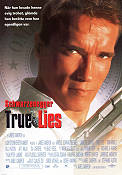 True Lies 1994 poster Arnold Schwarzenegger James Cameron