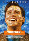 The Truman Show 1998 Movie poster Jim Carrey Peter Weir