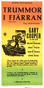 Distant Drums 1951 poster Gary Cooper Raoul Walsh