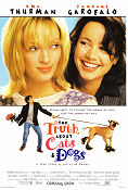 The Truth About Cats and Dogs 1996 poster Uma Thurman Michael Lehmann