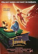 Thumbelina 1994 Movie poster Don Bluth