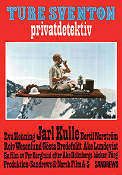 Ture Sventon privatdetektiv 1972 Movie poster Jarl Kulle
