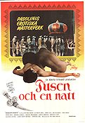 Arabian Nights 1975 Movie poster Ninetto Davoli Pier Paolo Pasolini