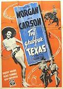 Two Guys From Texas 1949 Movie poster Dennis Morgan