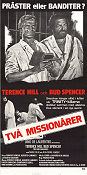Les 2 Missionaires 1975 Movie poster Terence Hill