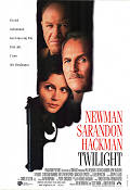 Twilight 1997 Movie poster Paul Newman Robert Benton