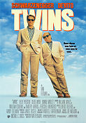 Twins 1988 Movie poster Arnold Schwarzenegger