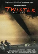 Twister 1995 Movie poster Helen Hunt
