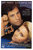 Two of a Kind 1983 poster John Travolta