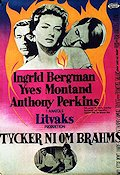 Goodbye Again 1961 Movie poster Ingrid Bergman