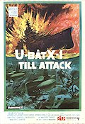 Submarine X-1 1969 poster James Caan