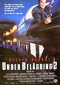 Under Siege 2 1995 Movie poster Steven Seagal