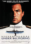 Under Siege 1992 poster Steven Seagal