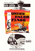 Under Ten Flags 1961 Movie poster Charles Laughton