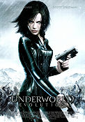 Underworld Evolution 2006 Movie poster Kate Beckinsdale