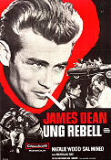 Rebel Without a Cause 1956 Movie poster James Dean Nicholas Ray