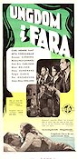 Ungdom i fara 1947 Movie poster Carl-Henrik Fant