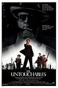 The Untouchables 1987 poster Kevin Costner Brian De Palma