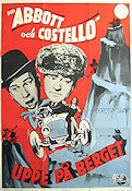 Comin' Round the Mountain 1952 Movie poster Abbott and Costello