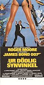For Your Eyes Only 1981 Movie poster Roger Moore