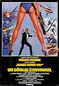 For Your Eyes Only 1981 poster Roger Moore John Glen