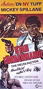 The Delta Factor 1976 Movie poster Mickey Spillane