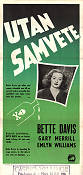 Another Man's Poison 1952 poster Bette Davis
