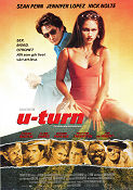 U-Turn 1997 Movie poster Sean Penn Oliver Stone