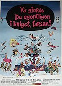 What Did You Do in the War Daddy 1966 poster James Coburn Blake Edwards