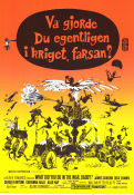 Va gjorde du egentligen i kriget farsan 1966 Movie poster James Coburn