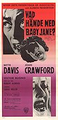 What Ever Happened to Baby Jane 1963 Movie poster Bette Davis