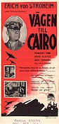 Five Graves to Cairo 1944 Movie poster Erich von Stroheim Billy Wilder