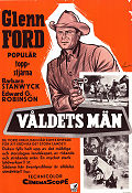 The Violent Men 1958 Glenn Ford Edward G Robinson Barbara Stanwyck
