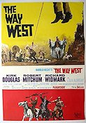 The Way West 1967 poster Kirk Douglas