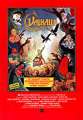 Valhalla 1987 Movie poster Peter Madsen