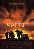 Vampires 1998 poster James Woods John Carpenter