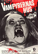 House of Dark Shadows 1971 Movie poster Jonathan Frid Dan Curtis