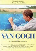 Van Gogh 1991 Movie poster Jacques Dutronc Maurice Pialat