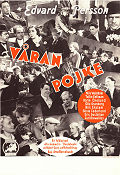 V�ran pojke 1936 Movie poster Edvard Persson