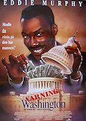 The Distinguished Gentleman 1992 poster Eddie Murphy Jonathan Lynn
