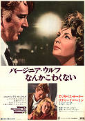 Who's Afraid of Virginia Woolf 1966 poster Elizabeth Taylor Mike Nichols