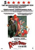 Who Framed Roger Rabbit 1988 Movie poster Roger Rabbit Robert Zemeckis