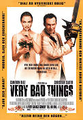 Very Bad Things 1998 Movie poster Cameron Diaz Peter Berg
