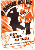When My Baby Smiles at Me 1949 Movie poster Betty Grable