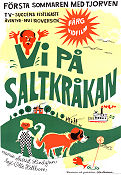 Vi p� Saltkr�kan 1968 Movie poster Olle Hellbom