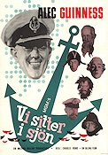 All at Sea 1958 Movie poster Alec Guinness