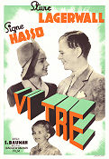 Vi tre 1939 movie poster Signe Hasso